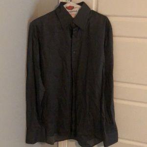 Men's Hugo boss dress shirt charcoal gray